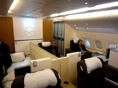 lufthansa new first class concept on a380 youtube. Black Bedroom Furniture Sets. Home Design Ideas
