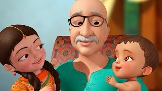Dadaji (Grand Father) | Hindi Rhymes for Children | Infobells