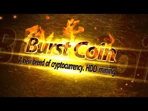 BurstCoin HDD халява из мегабайтов  Майнинг и настройка эпизод 1