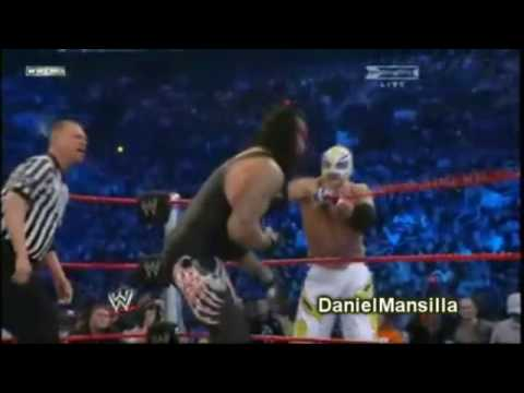 Wwe Royal Rumble 2010 || The Undertaker Vs. Rey Mysterio - Shout Tribute video