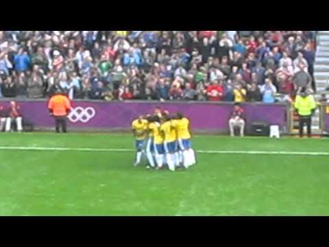 Neymar Olympic goal for Brazil at London 2012
