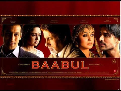 Kehta Hai Baabul Song   Baabul Movie   Amitabh Bachchan, Salman Khan, Rani Mukherjee and Others