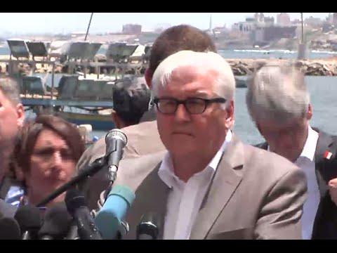 'Need to re-open Gaza borders': German FM Steinmeier visits strip