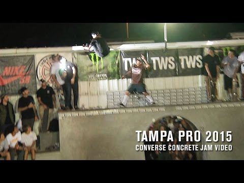Converse Concrete Jam and TWS Best Trick - TransWorld SKATEboarding