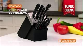 Delimano Chef Power set noževa