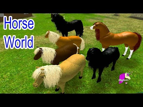 Horse World ! Lets Play Roblox Online Horses Game Play Video