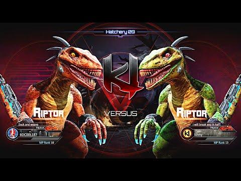 Killer Instinct Riptor Gameplay Footage - Online Match 17