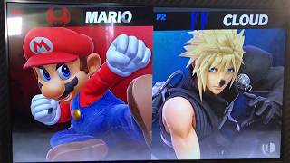 Aluf (Mario) vs ORG ramble (Cloud) - Armageddon Expo 2018 Super Smash Bros Ultimate Demo