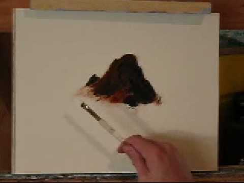 How to paint rocks youtube for How paint on canvas