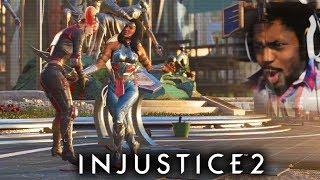 WONDER WOMAN KILLS HARLEY QUINN!?   Injustice 2 #9