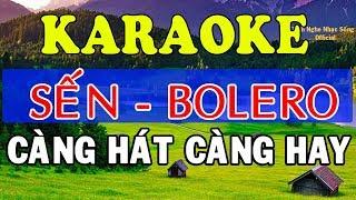 [KARAOKE] Liên Khúc Karaoke Sến - Bolero - Trữ Tình Cực Hay - Nhạc Sống Karaoke