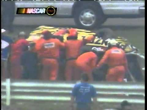 Steve Park Flip At Pocono 2002 (Full Video)