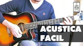 Guitarra Acústica Tutorial Fácil: Canción Acordes para Principiantes
