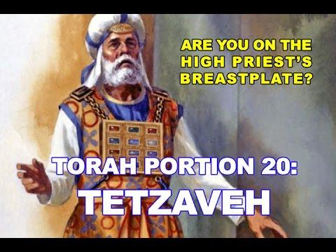 VHC Week 20 - Torah Portion: Tetzaveh (You Shall Command)