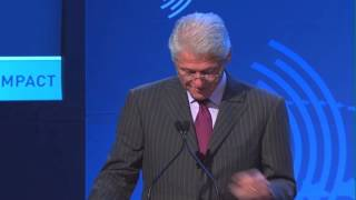 President Clinton announces the Delos® WELL Building Standard™ at the Clinton Global Initiative