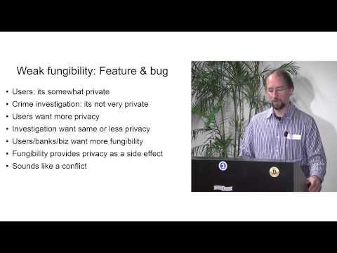 Fungibility, Privacy & Identity (Adam Back, February 2014)