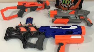 Box of Toys NERF Guns Rocket Launcher New Toy Opening