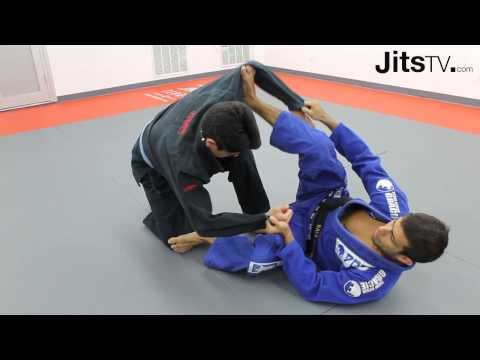Spider Guard Sweep Essential - Rafael Costa - Jits Magazine Image 1