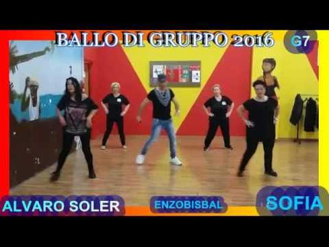 BALLO DI GRUPPO 2016-ALVARO SOLER SOFIA BONUS G7