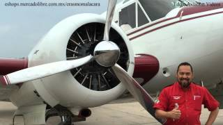 Beechcraft Super 18 una joya de la aviacion mundial