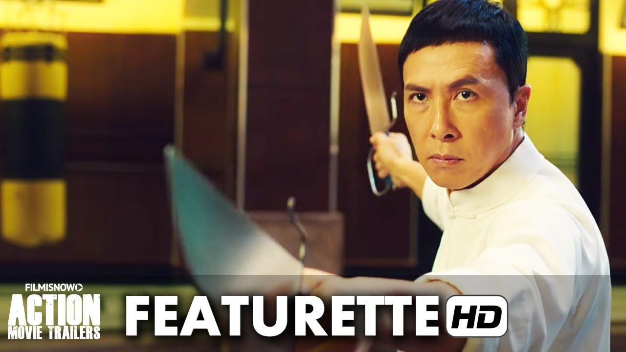 IP MAN 3 Featurette 'Wing Chun Lesson 3 - Butterfly Knives & the Dragon Pole' (2016) HD