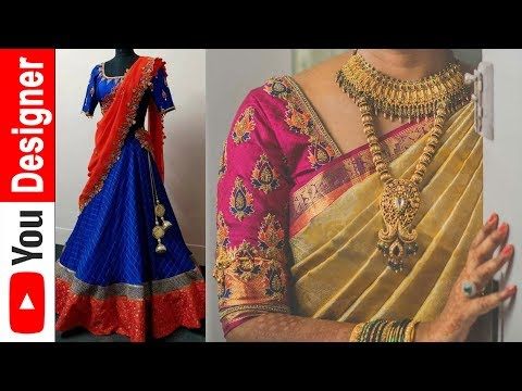 Top 20 Creative Latest Maggam Work Designs for Blouses Collections in India | Latest Updates 2018