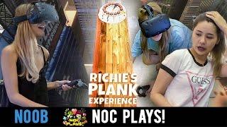 NOC Plays Riche's Plank Experience! (HTC Vive)