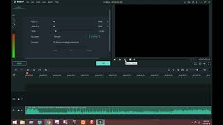 how to make uor vioce or song heavy || in filmora || tech video editor