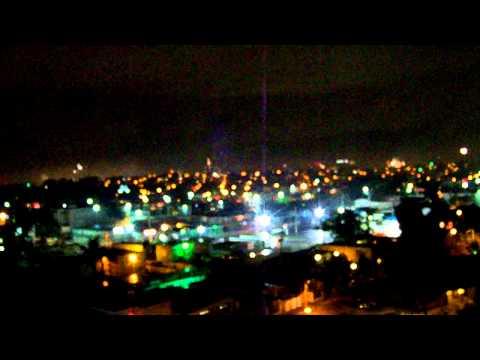 Puerto Rican Fireworks New Years 2012 in Isla Verde!!