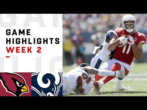 Cardinals vs. Rams Week 2 Highlights | NFL 2018