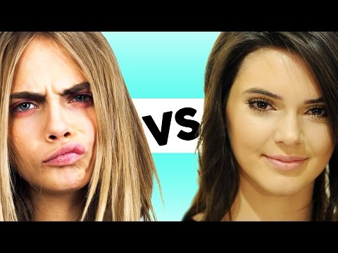 Cara Delevingne vs Kendall Jenner - Best Model of 2014