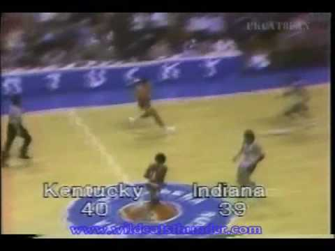 Kentucky Wildcats vs Indiana Hoosiers (1979) Video
