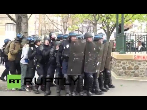 France: Violent protest rocks Paris as police and activists clash