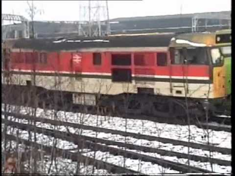 Filmed late 1991 various Locomotives are shunted around Crewe Depot, Note the hand brake is still applied as 31970 is shunted around the depot!!!