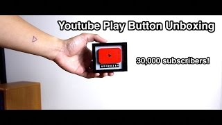 Youtube Play Button Unboxing: 30,000 Subscribers!!