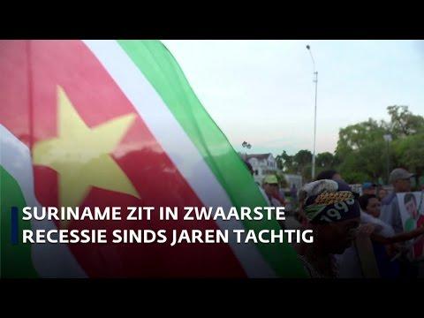 Suriname maakt zware economische crisis door