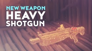 NEW LEGENDARY HEAVY SHOTGUN - DOUBLE PUMP RETURNS? (Fortnite Battle Royale)