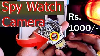4GB Water Resistant Spy Watch Camera | Review