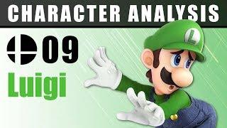 Character Analysis - 09 Luigi - Super Smash Bros. Ultimate