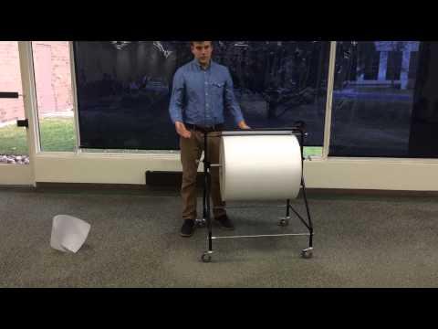 Bubble Wrap Dispenser Bubble Wrap® Foam Roll