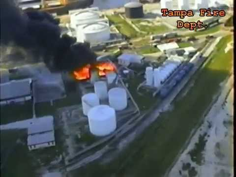 GATX tank farm fire, September 24, 1990