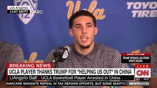 Shoplifting UCLA Boon Ball Nigs Thank Leader Trump