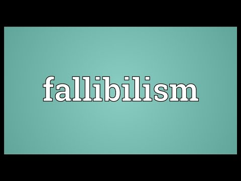 fallibilism and the justified deduction principle Critical rationalism blog  but no one needs critical rationalism to be a fallibilist or to adhere  you claim that deduction cannot be justified using deduction.