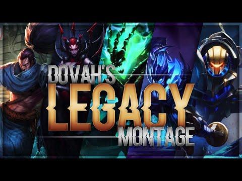 Dovah's Legacy Montage [Diamond Jayce,Yasuo,Elise,Thresh,Draven]