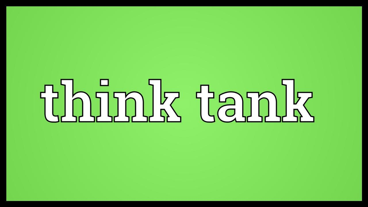 Think Green Meaning Think Tank Meaning