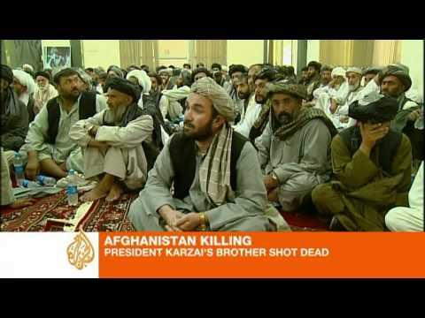 Afghan president's brother killed in Kandahar