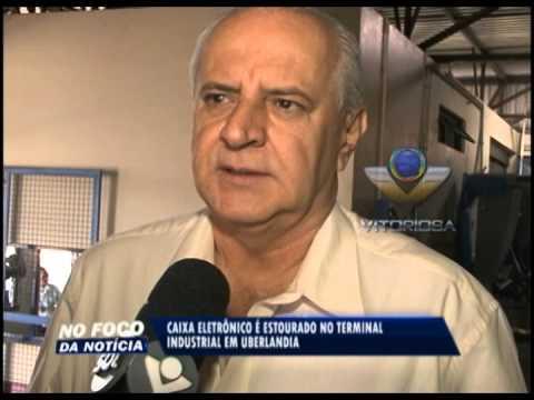 Caixa eletrônico é explodido no Terminal Industrial, em Uberlândia