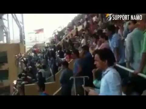 Exclusive : 'modi Modi' Chant At Wankhede Stadium When Rahul Gandhi Enters video