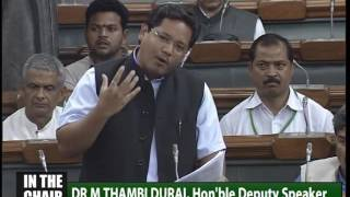 Conrad Sangma's maiden speech in the Parliament, Full Version