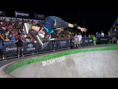 Christian Hosoi 2nd Place Run - Dew Tour Ocean City Legends Skate Bowl